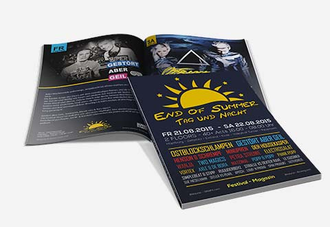 Event-Marketing | Magazin DIN A4 - End of Summer 2015